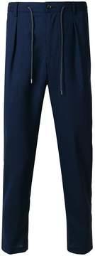 Barba drawstring trousers