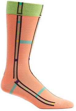 Ozone Men's Mondrian Stripe Socks (2 Pairs)