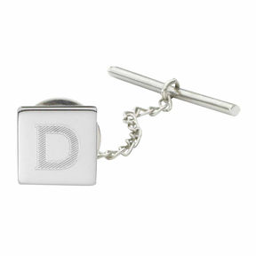 Asstd National Brand Personalized Square Tie Tack