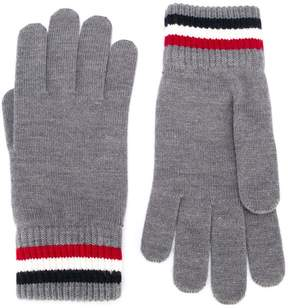 Moncler logo patch gloves