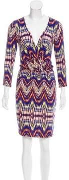 Ella Moss Printed Jersey Knit Dress