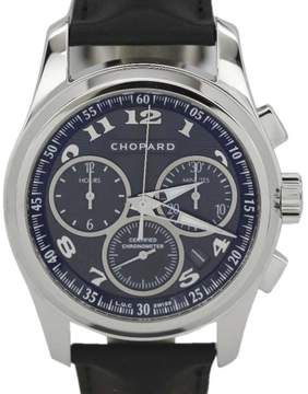 Chopard L.U.C. Chronograph One 161916-1002 18K White Gold 42mm Mens Watch