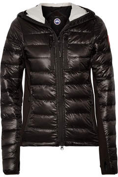Canada Goose Hybridge Lite Hooded Quilted Shell Down Jacket - Dark brown