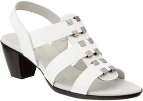 Munro American Women's Maggie Leather Sandal