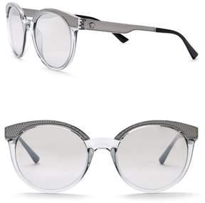 Versace 53mm Round Rock Icons Sunglasses