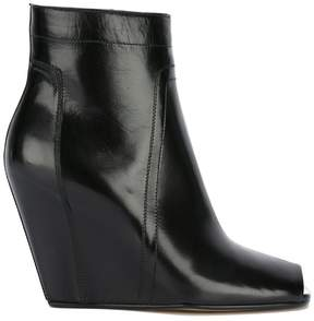Rick Owens open-toe wedge ankle boots
