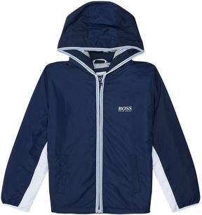 HUGO BOSS Hooded Windbreaker Jacket