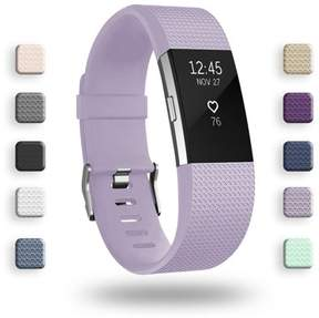 Fitbit IGK Charge 2 Bands Replacement Sport Strap Accessories with Fasteners and Metal Clasps for Charge 2 Wristband (Small, Lavender)