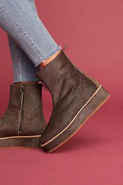 Bill Blass Penny Sutton Platform Boots