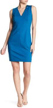 T Tahari Lakira V-Neck Dress