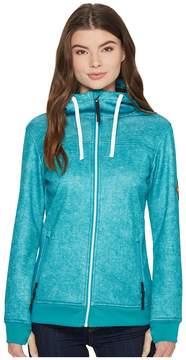 686 Ella Bonded Zip Fleece Hoodie Women's Sweatshirt