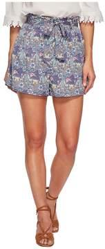 Bishop + Young Printed Paperbag Shorts Women's Shorts