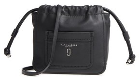 Marc Jacobs Tied Up Leather Crossbody Bag - Black