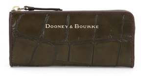 Dooney & Bourke Denison Collection Zip Clutch - OLIVE - STYLE