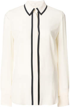 Mantu longsleeved stripe detail shirt