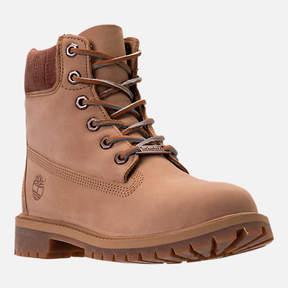 Timberland Boys' Grade School Pioneer 6-Inch Premium Boots