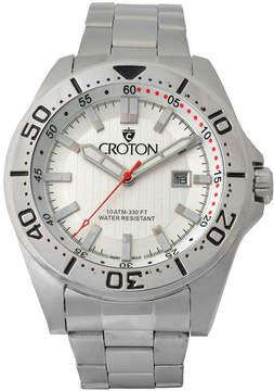 Croton N/A Mens Two Tone Bracelet Watch-Ca301295ttbk