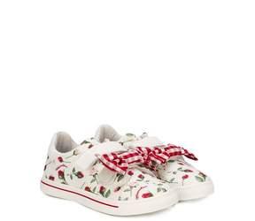 MonnaLisa gingham check sneakers