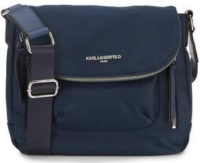 Karl Lagerfeld Paris Cara Nylon Messenger Bag
