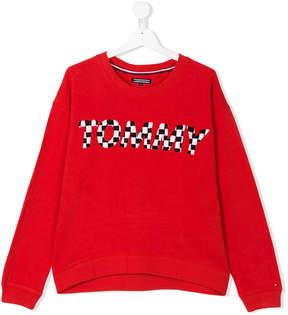 Tommy Hilfiger Junior TEEN embroidered brand sweatshirt