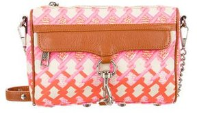 Rebecca Minkoff Printed M.A.C. Crossbody Bag - PINK - STYLE