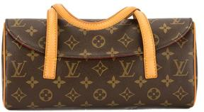 Louis Vuitton Monogram Canvas Sonatine Bag - BROWN - STYLE
