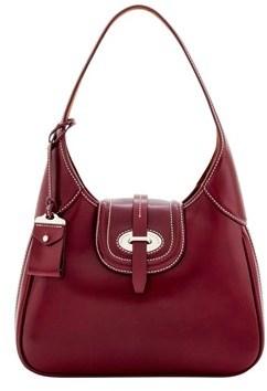 Dooney & Bourke Florentine Toscana Hobo Shoulder Bag. - BORDEAUX - STYLE
