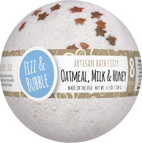 Fizz & Bubble Oatmeal, Milk & Honey Large Bath Fizzy