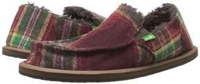 Sanuk Vagabond Plaid Chill Boy's Shoes