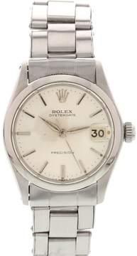 Rolex Oysterdate Precision 6466 Stainless Steel Vintage Mens Watch