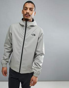The North Face Quest Jacket Waterproof Hooded In Gray