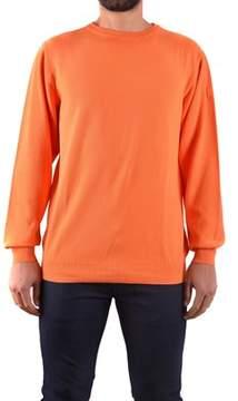 Paul & Shark Men's Orange Cotton Sweater.