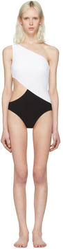 Araks Black and White Elmar Swimsuit