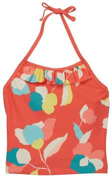 Tea Collection Passion Fruit Ruffled Tank Top (Toddler & Little Girls)