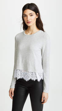 Generation Love Esther Top with Lace Trim