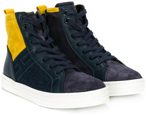 Hogan hi-top lace up sneakers