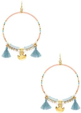 Chan Luu Women's Beaded Drop Earrings