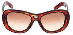 Chloé Oversize Marbled Sunglasses