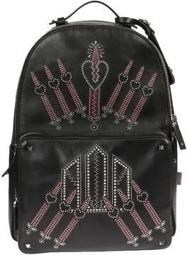 Valentino Love Black Backpack