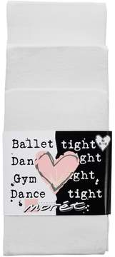 Jacques Moret Girls 4-14 3-pk. Solid Footed Dance Tights