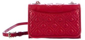 Tory Burch Quilted Fleming Bag - RED - STYLE