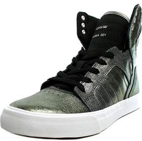 Supra Skytop Leather Fashion Sneakers.