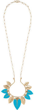 Aurelie Bidermann Talitha Gold-plated Turquoise Necklace