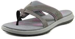 BearPaw Kathryn Open Toe Synthetic Slides Sandal.
