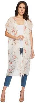 Bobeau B Collection by Brianna Long Kimono Women's Clothing