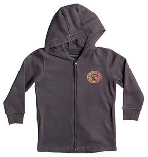 Quiksilver Toddler Boy's Ingon Graphic Zip Hoodie
