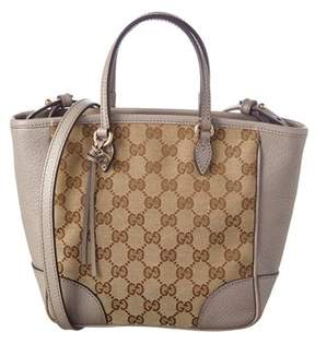 Gucci Gg Supreme Canvas & Leather Tote. - BROWN MULTI - STYLE