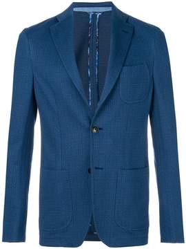 Etro micro pattern blazer