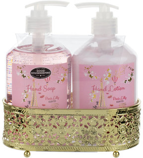 adrienne vittadini Two-Piece Paris Lilly Scented Hand Soap & Lotion Set