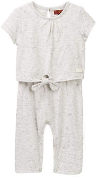 7 For All Mankind Tie Coverall (Baby Girls 0-9M)
